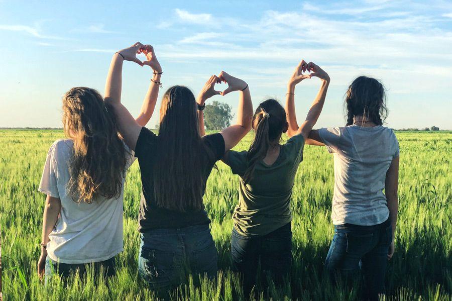chicas-en-campo